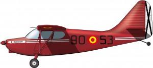 Stinson Voyager: los primeros aviones USA del franquismo