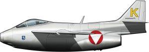 Saab 29 Tunnan: el barril sueco