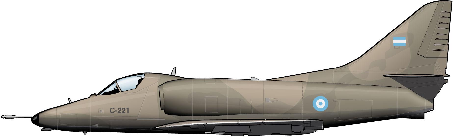 douglasskyhawkfaargentina1975