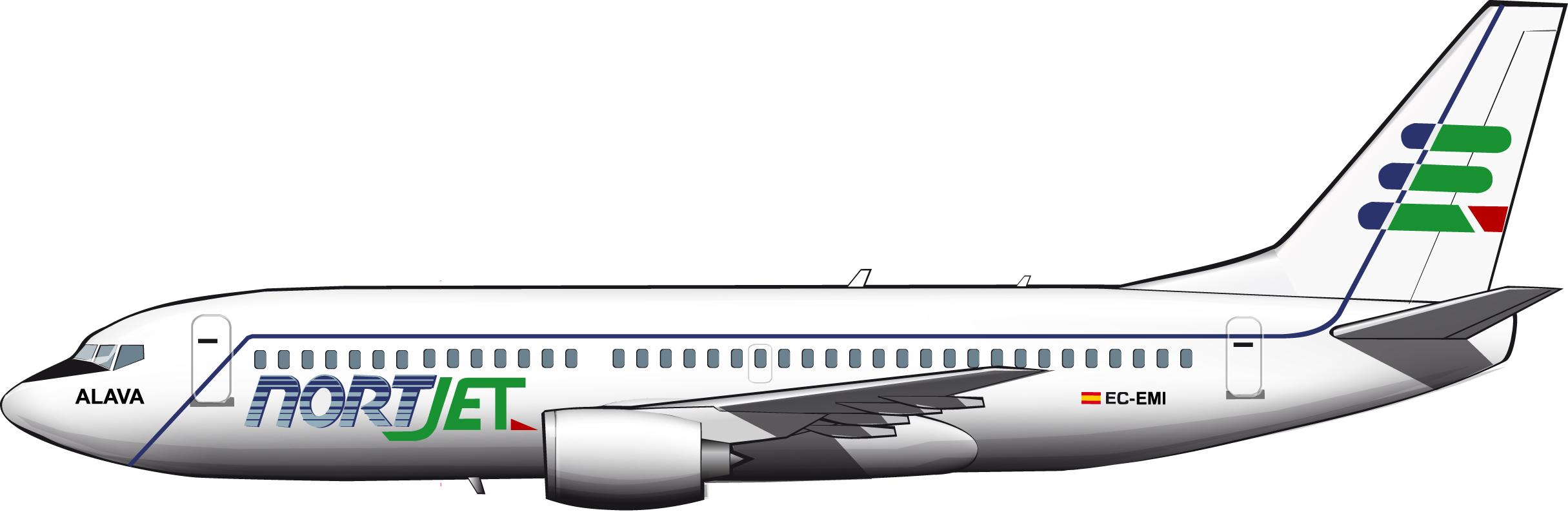 Euskal Air, Nort Jet y el aeropuerto de Foronda