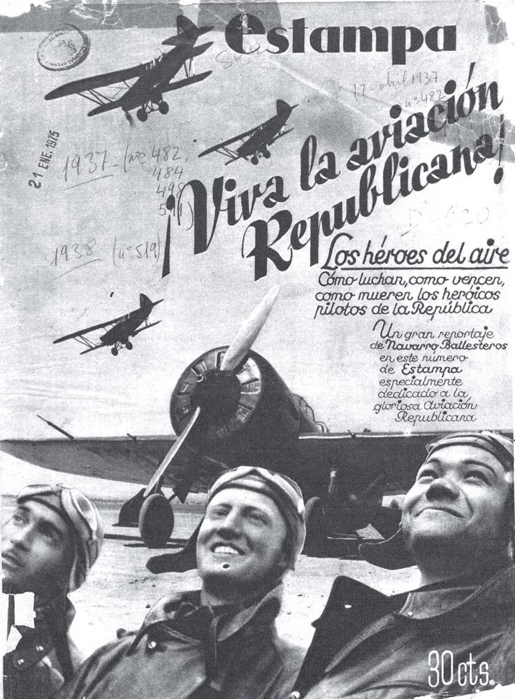 ¡Viva la aviación Republicana!