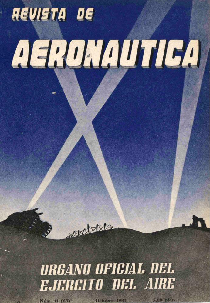 Revista de Aeronáutica, octubre de 1941