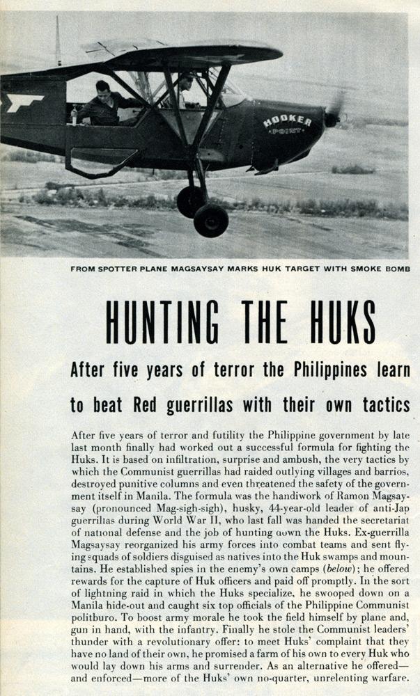 A la caza de los Huks
