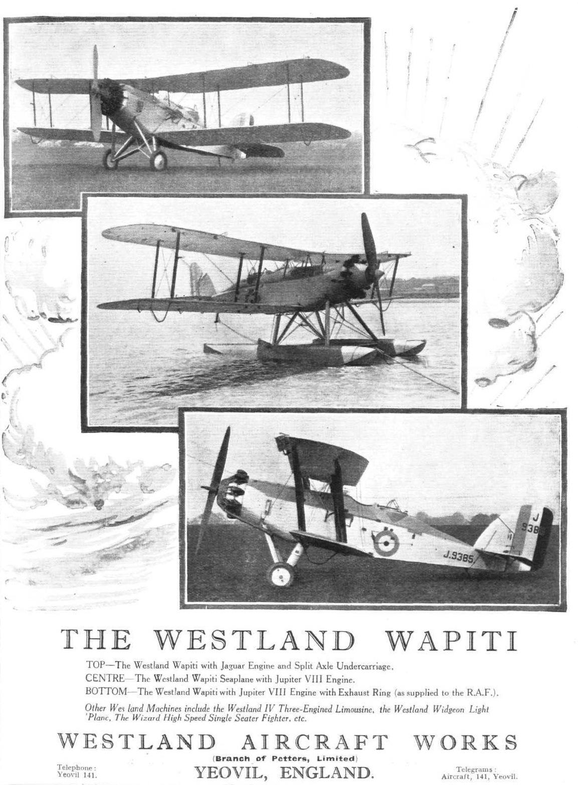 The Westland Wapiti