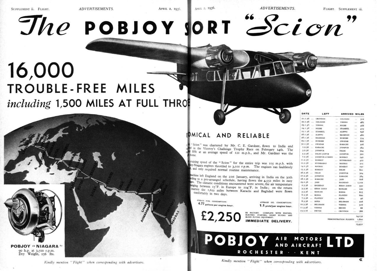 """The Pobjoy Short """"Scion"""""""