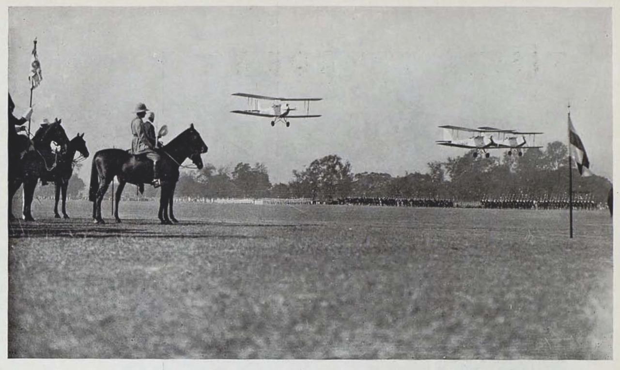La aviación en la India inglesa