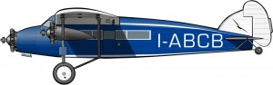 Caproni Ca.101: cabina de segunda clase para nativos