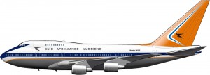 El apartheid y la aviación comercial