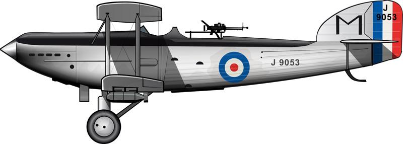 Un Fairey IIIF colonial a finales de la década de 1920.