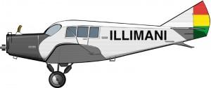 Una red pionera de transporte aéreo en el altiplano