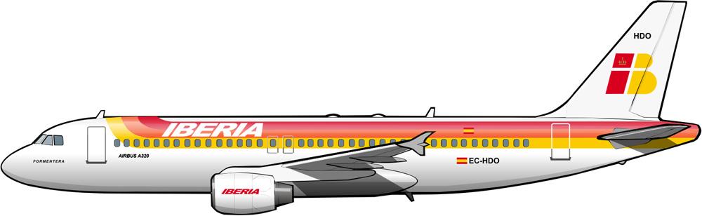 airbusa320iberia2000