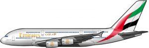 Aviones gigantes por decenas … o centenas