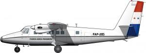 Aviones para el Panamá de Torrijos