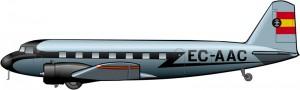 DC-2 republicanos para la aerolínea nacional