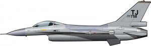 Los incómodos F-16 de Torrejón