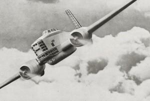 Le Breguet 460, multiplace de combat et de bombardement