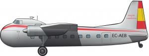 Bristol 170 Wayfarer / Freighter de Aviaco, 1948