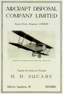 Martinsyde F4A Buzzard – Aircraft Disposal Company Limited