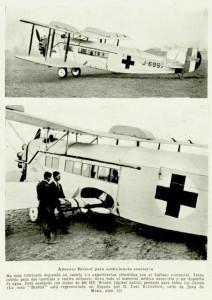 Aparato Bristol para ambulancia sanitaria