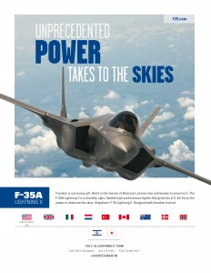 """""""… gives the U.S. Air Force the power to dominate the skies"""""""