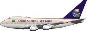 Un 747 de Saudia
