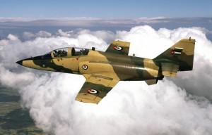 Fuerza Aérea de Jordania, aviones de guerra