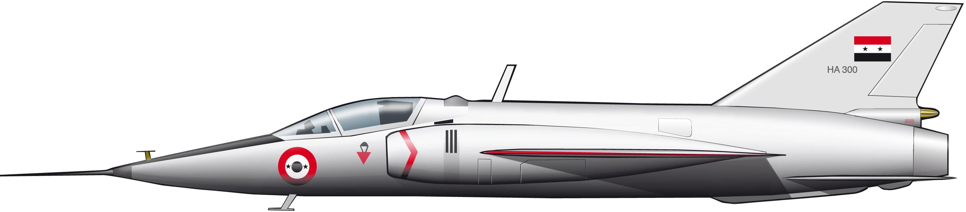 HA-300: el proyecto hispanoegipcioindio