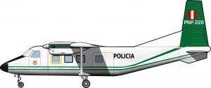 La aviación policial del Perú