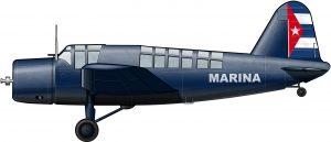 Los primeros aviones de la FAR
