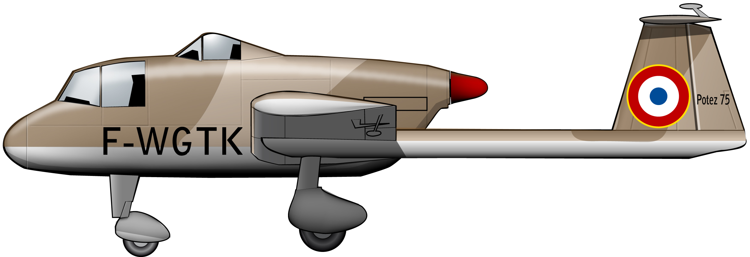 potez75argelia1956