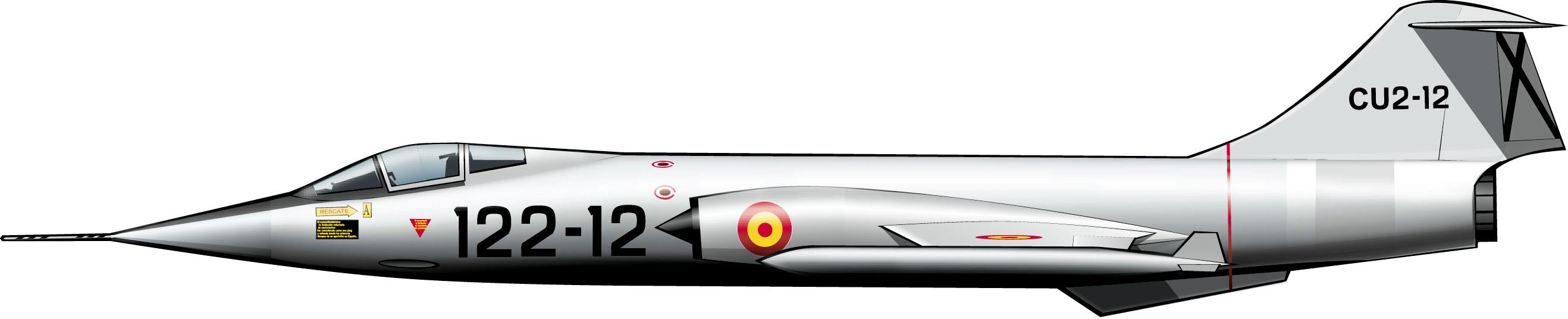 lockheedstarfighterspain1964