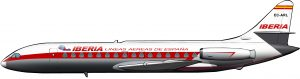 Caravelles para Iberia, el año del Contubernio de Múnich