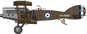 La RAF y la guerra de independencia de Irlanda