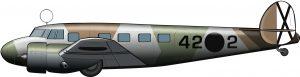 El avión del Jefe del Aire