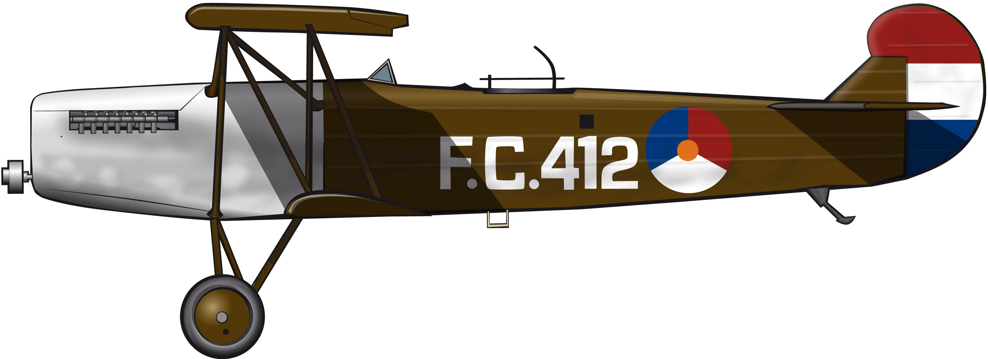 fokkercivspain1924