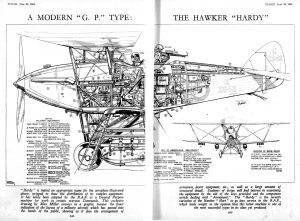 El modelo G.P. (colonial) Hawker Hardy
