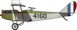 Aviación colonial en picado
