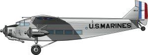 Transporte aéreo pesado para la guerra contra Sandino
