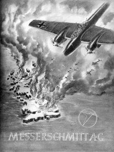 Nazi Aircraft Ads: Messerschmitt Me 109