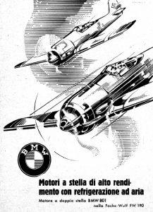 Nazi Aircraft Ads: Focke Wulf Fw 190