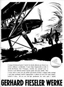 Nazi Aircraft Ads: Fieseler Storch