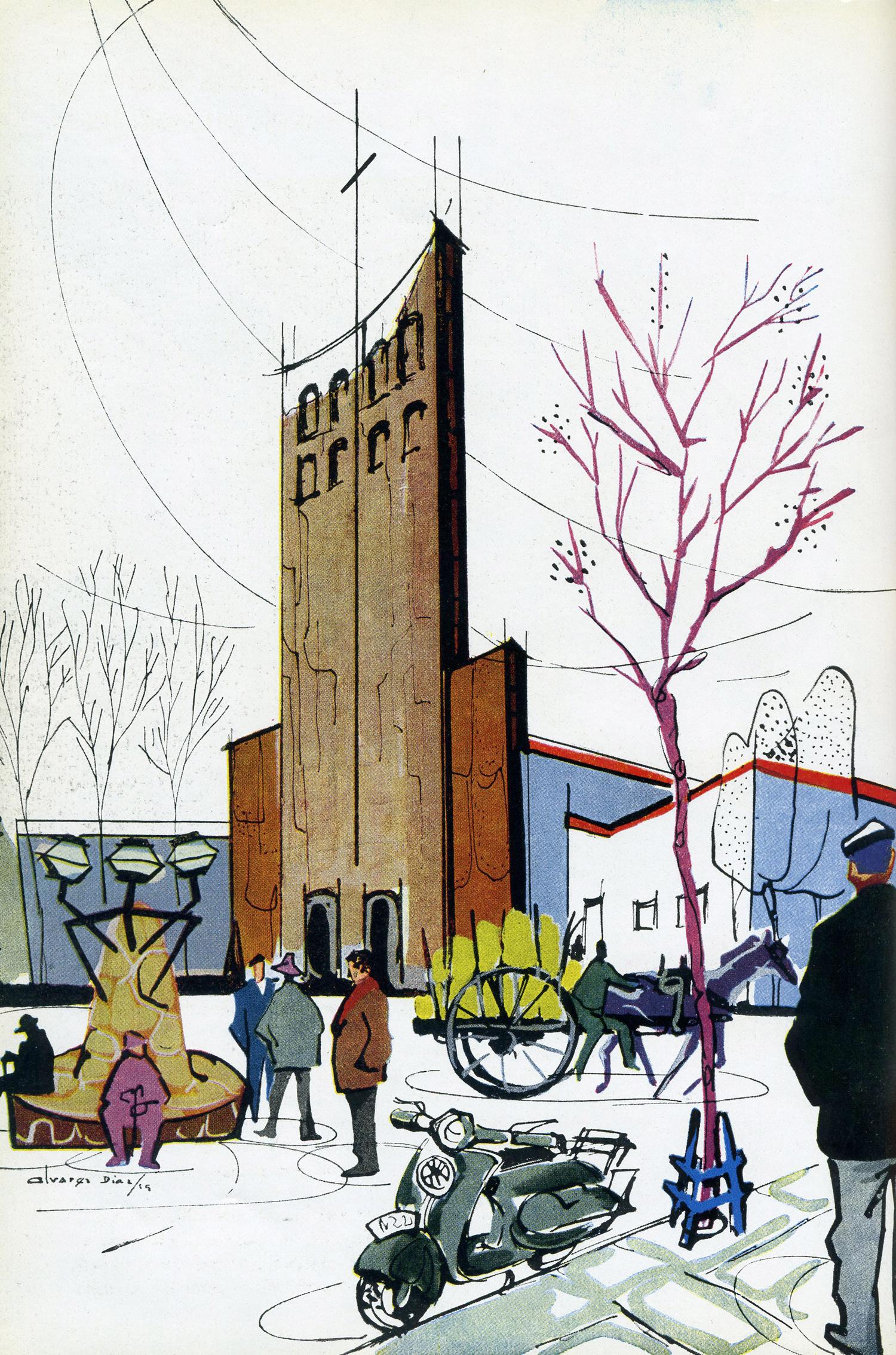 puebloiglesiaespagna1959-BEE001