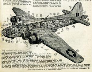 El bombardero Boeing B-17R