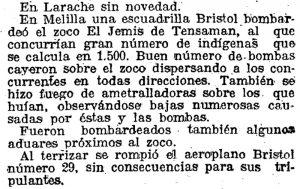 Bombardeo del zoco El Jemis de Tensaman