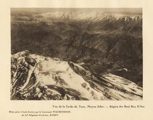 Vue de la Tache de Taza, Moyen Atlas