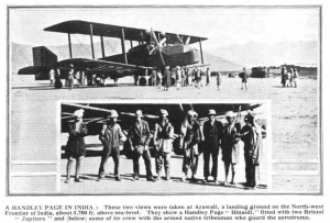 A Handley Page in India