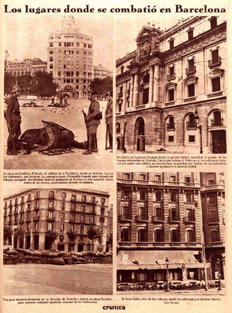 El 19 de julio de 1936 en Barcelona