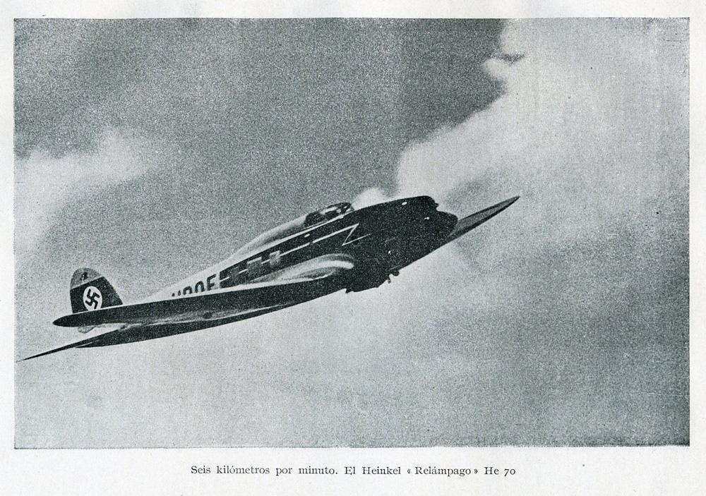 Heinkel He.70 Blitz (Relámpago): la respuesta alemana al Lockheed Orion