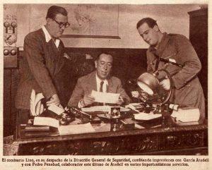 Dirección General de Seguridad, octubre de 1936