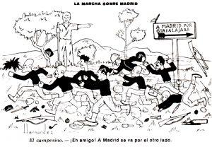 Soria invade Guadalajara